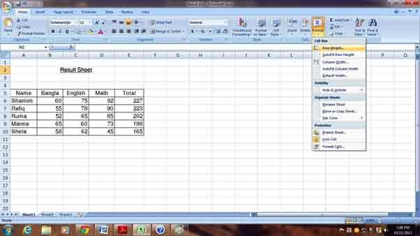 Ms Excel 6.1