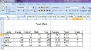 MS Excel 12-3